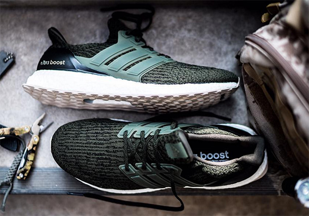 Adidas Ultra Boost 3.0 hunter green nieuwe colorway man man 2