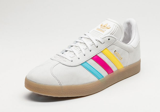 Adidas gazelle color stripe pack man man 1