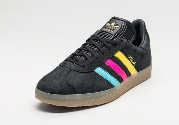 Adidas gazelle color stripe pack man man 4