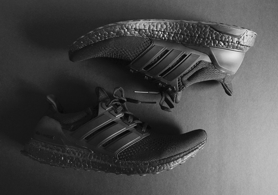 Adidas ultra boost triple black man man
