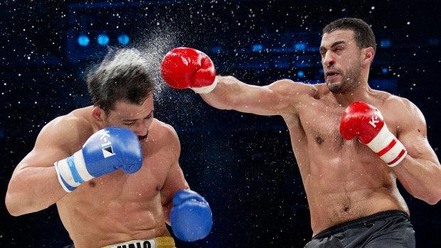 Badr Hari kickboksen man man rico verhoven vechtsport