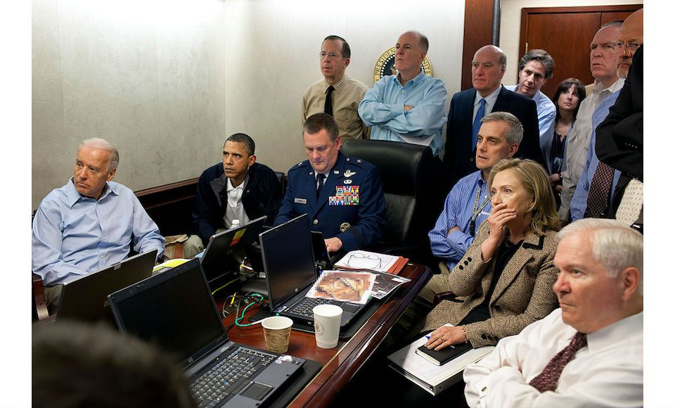 Barrack Obama-The situation room-meest icnoische foto's- MAN MAN