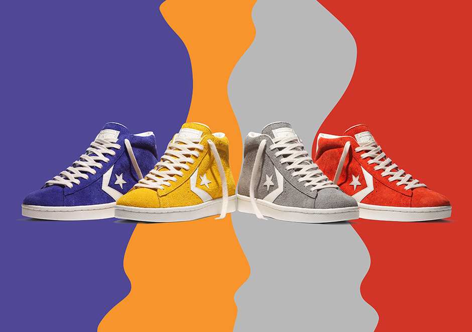 Converse pro leather 76 suede pack man man