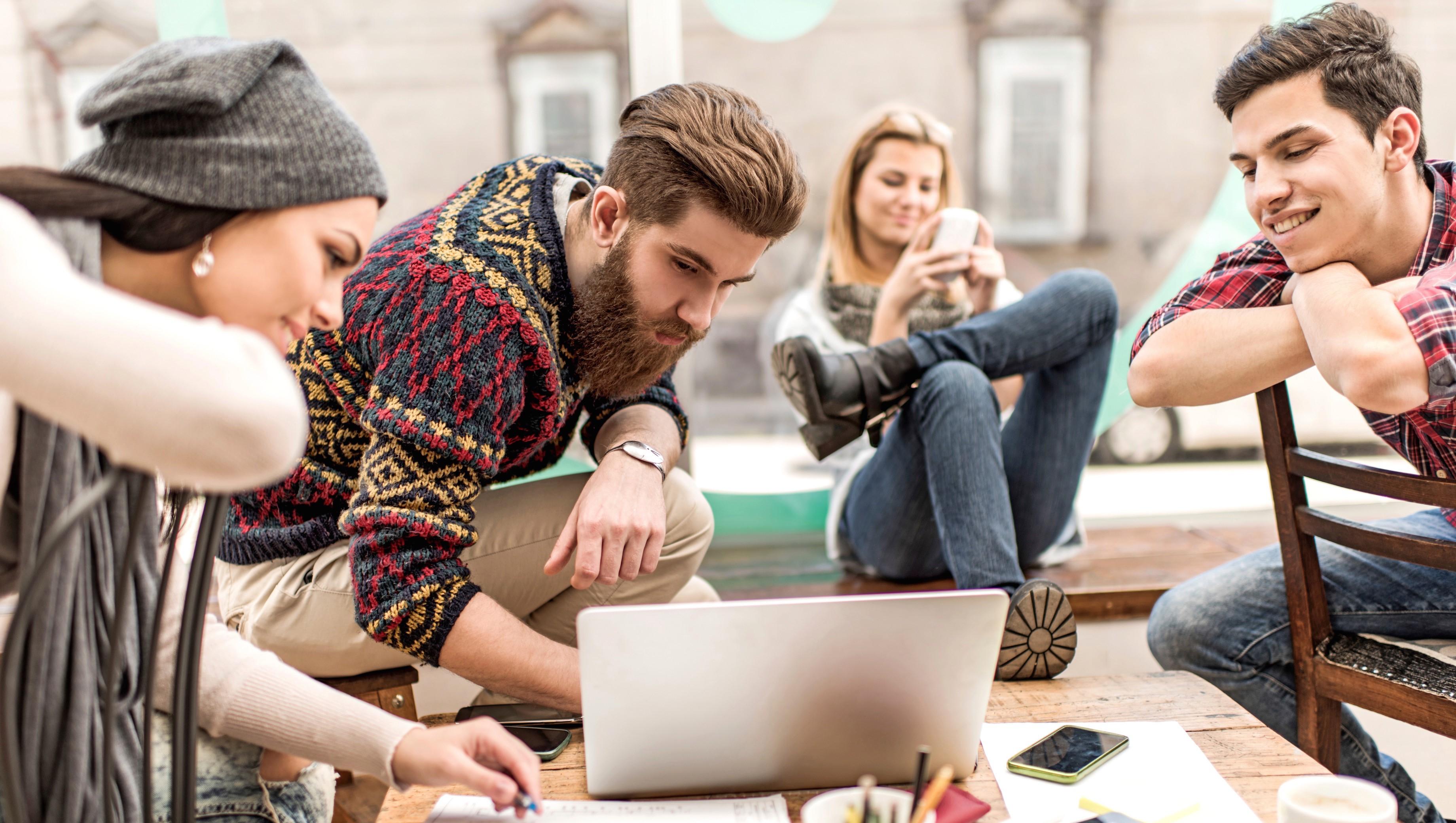 carrière jongeren millenials inspanning concentratie