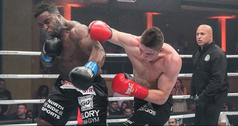 Rico verhoeven vs. badr hari vechtsport man man kickboksen