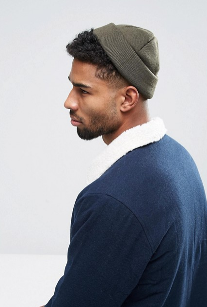 winter essentials-blauwe muts-winter accessoires-heren muts-MAN MAN