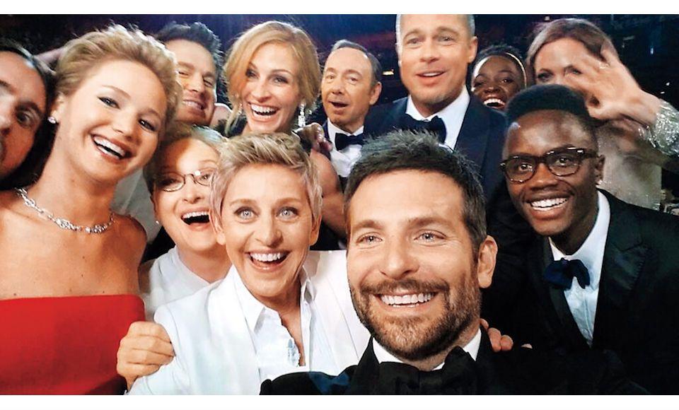 Selfie-celbrities-meest icnoische foto's-MAN MAN