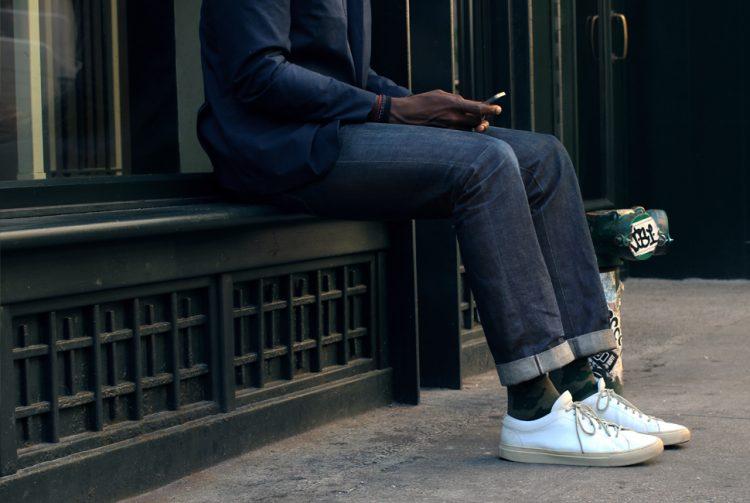 denim jeans-heren spijkerbroek-MAN MAN