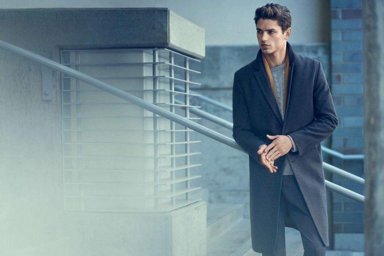 goed uitzien-herenjas-grijze coat-MAN MAN