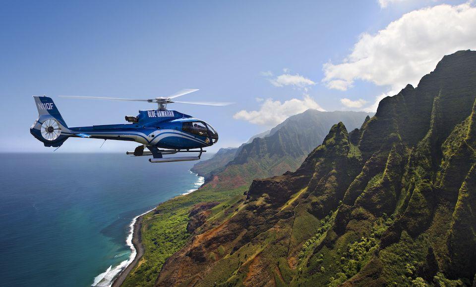 maui hawaii stranden helikopter vlucht