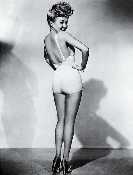 Meest iconische foto's-Betty Grable-MAN MAN