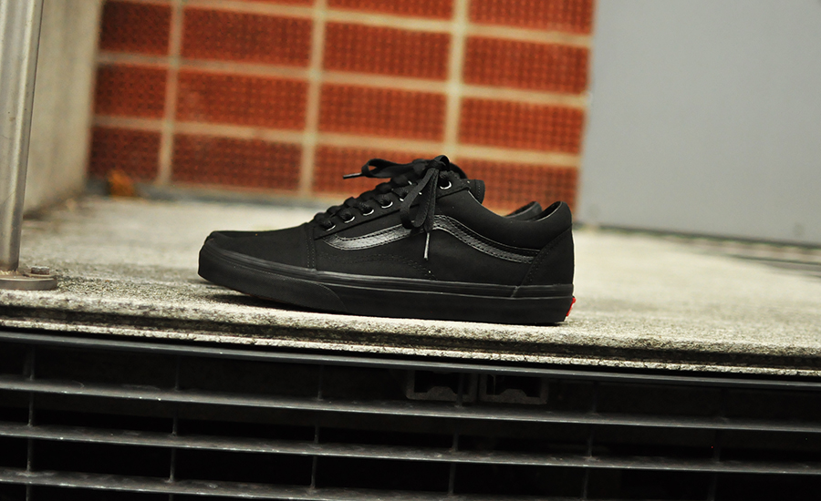 sneakers vans old skool triple black