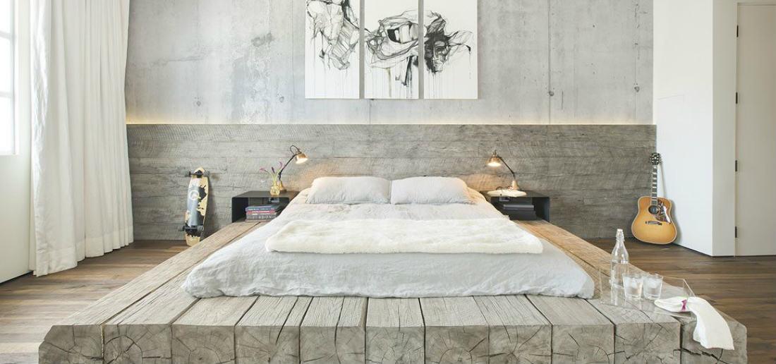 Dit is het stijlvolste bed dat je zelf kunt maken man man - Bed dat gelederen ...