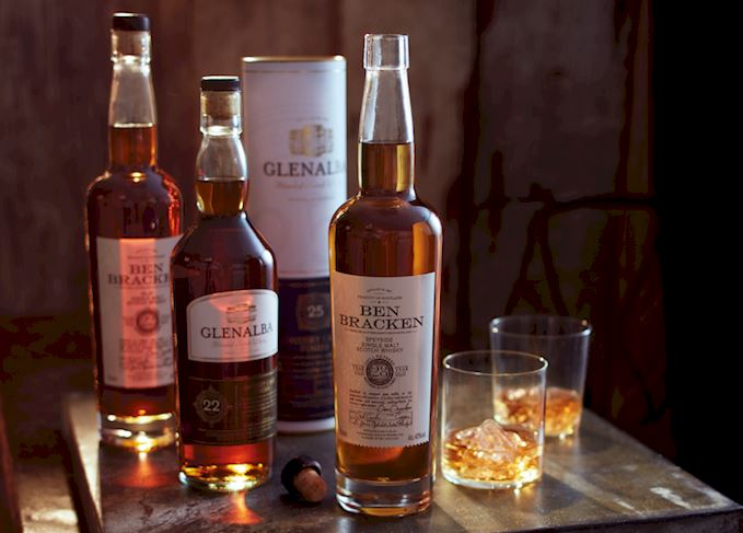 34 Year Glen Alba Sherry Cask Finish Scotch whisky