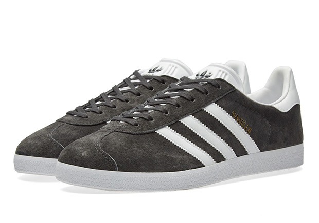 adidas gazelle solid grey man man sneakers