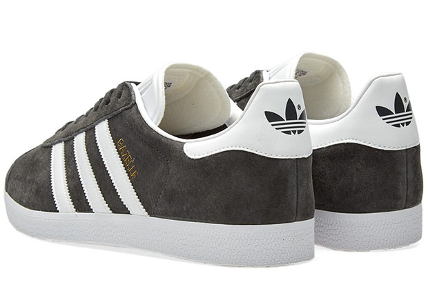 adidas gazelle solid grey man man sneakers 1