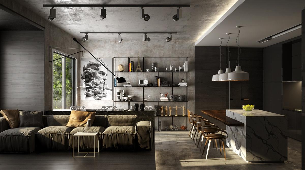 Geef je woning een stijlvolle upgrade met een mat zwarte for Living room decor app
