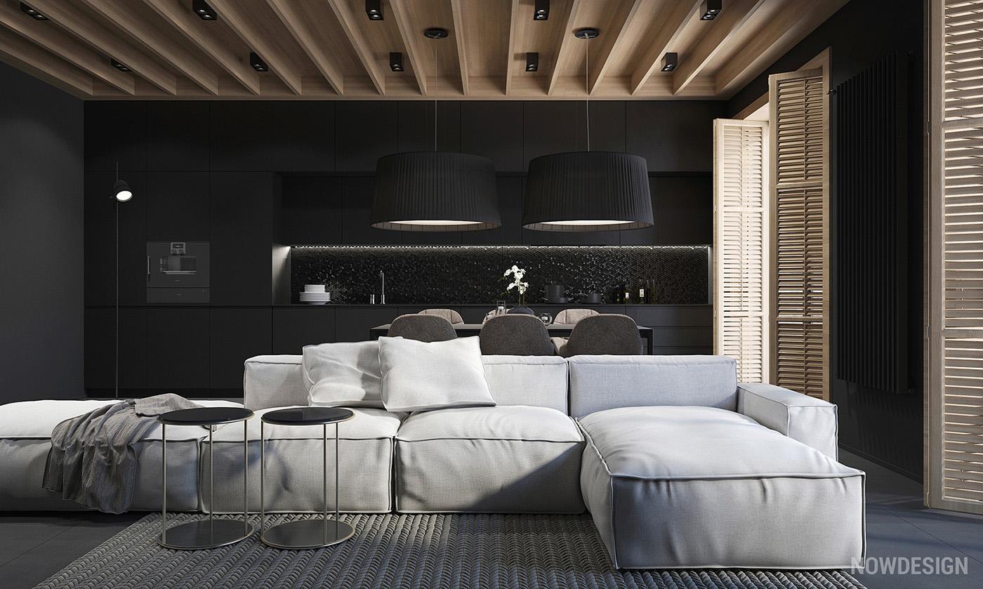 Room Decorating App Geef Je Woning Een Stijlvolle Upgrade Met Een Mat Zwarte