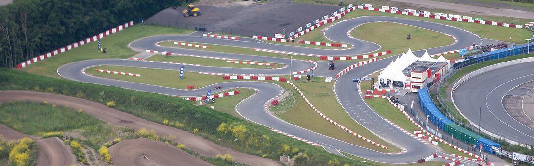 circuit lelystad kartbaan karten man man
