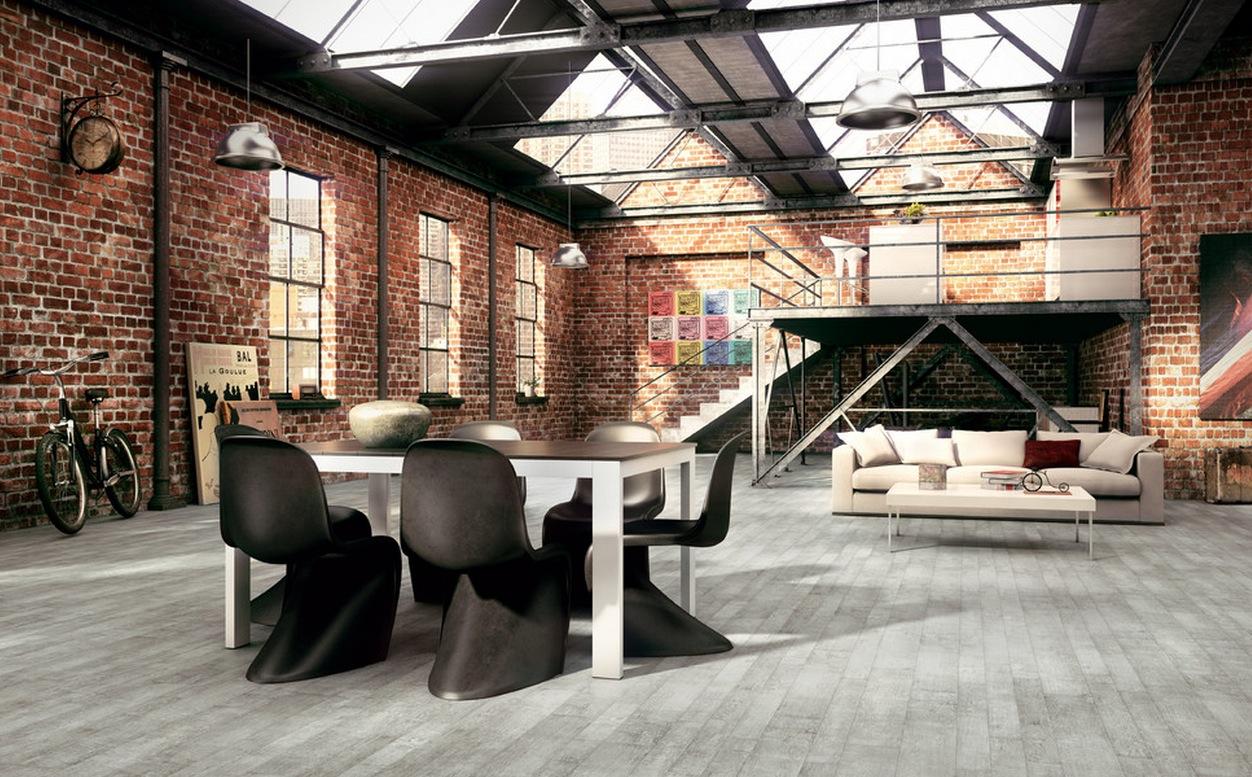 Industriele Loft Woonkamer : Loft inrichten cool een kleine woonkamer en keuken in n
