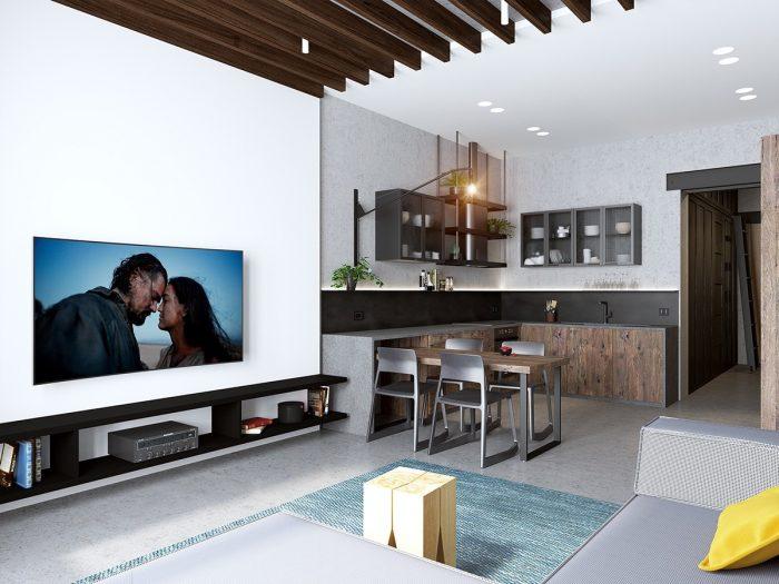 Klein Appartement Inrichting : Inspiratie: haal meer uit je tweekamerappartement man man
