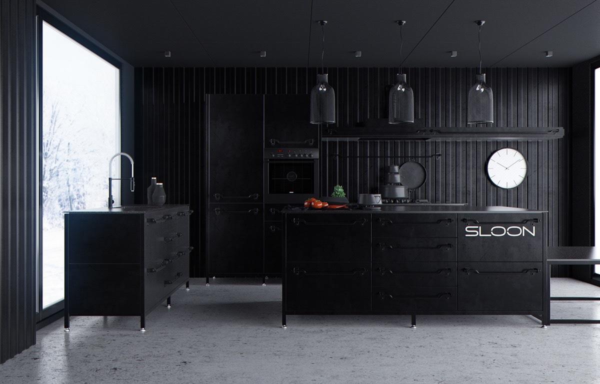 Keuken Zwart Stoere : Zwarte stoere keuken u2013 informatie over de keuken