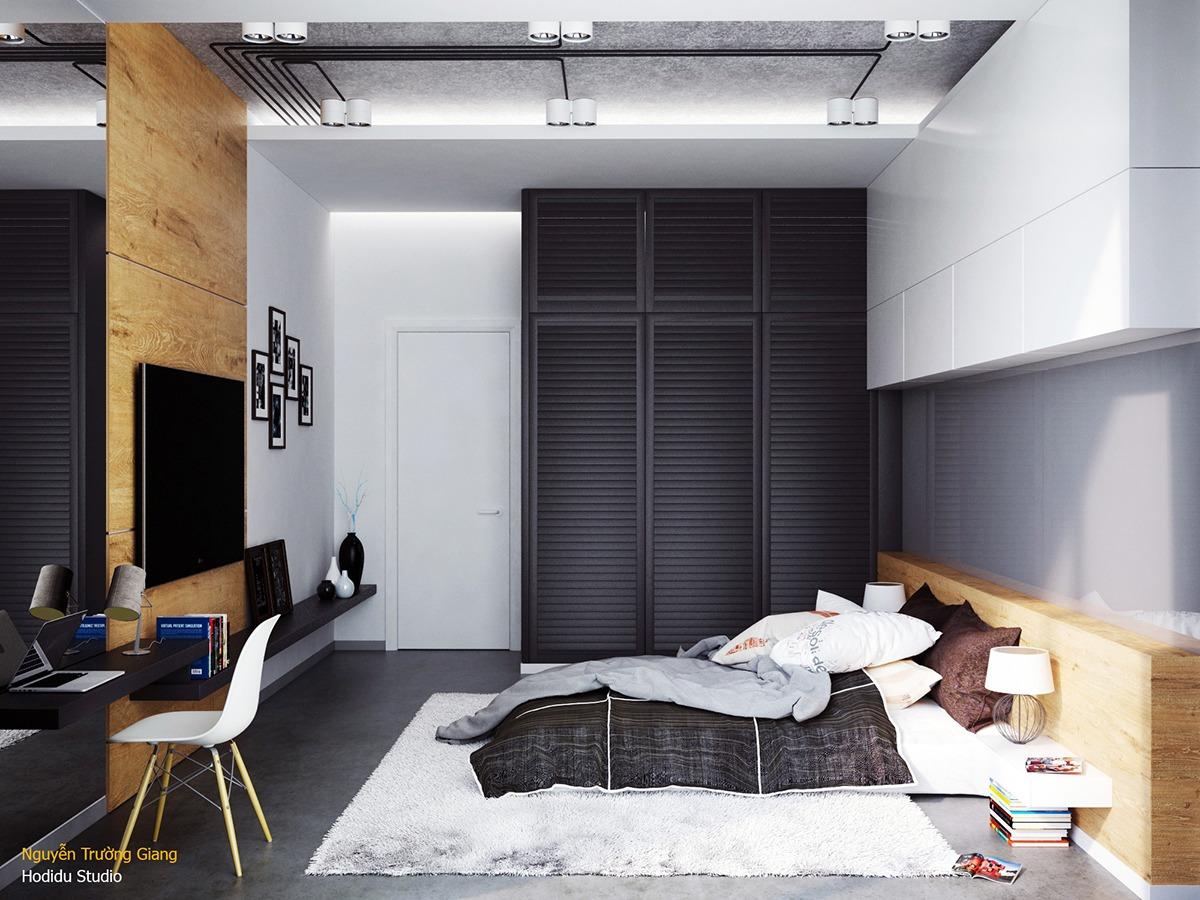 Kamer Inrichten 3.Inspiratie 4 Unieke Slaapkamers Met Geweldige Details Aan De Muur