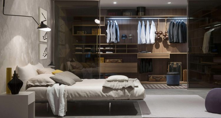 Stijlvolle Mannen Slaapkamer : Inspiratie slaapkamers met stijlvolle garderobes man man