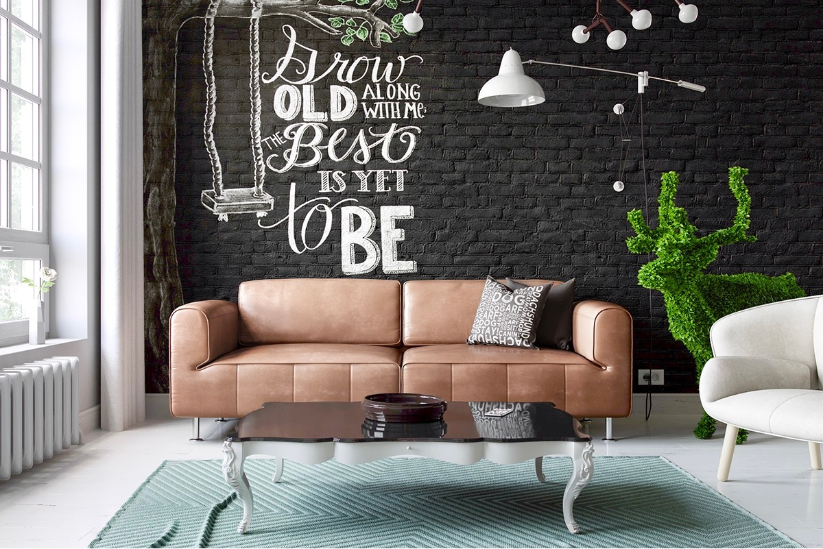Inspiratie: een bakstenen muur geeft je woning de ultieme loft ...