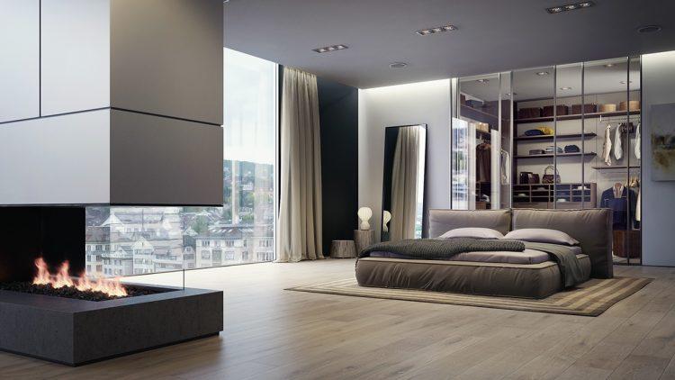 Inspiratie: slaapkamers met stijlvolle garderobes | MAN MAN