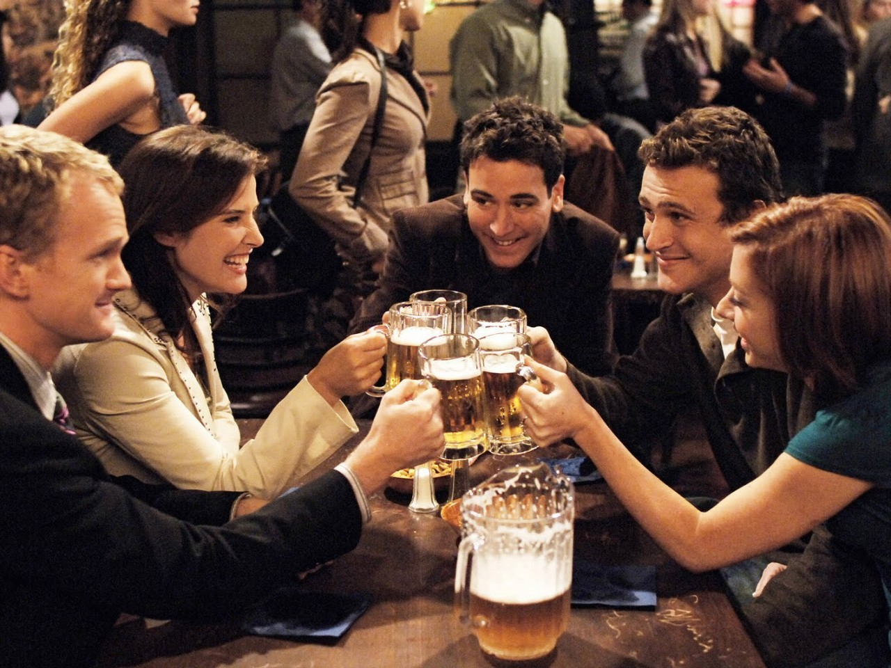 Bier drinken man man