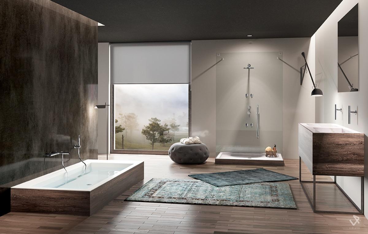 Bathroom Unique Small Bathroom Designs Bathroom Designs: Badkamer Inspiratie: Creëer Een Ruimte Vol Rust En