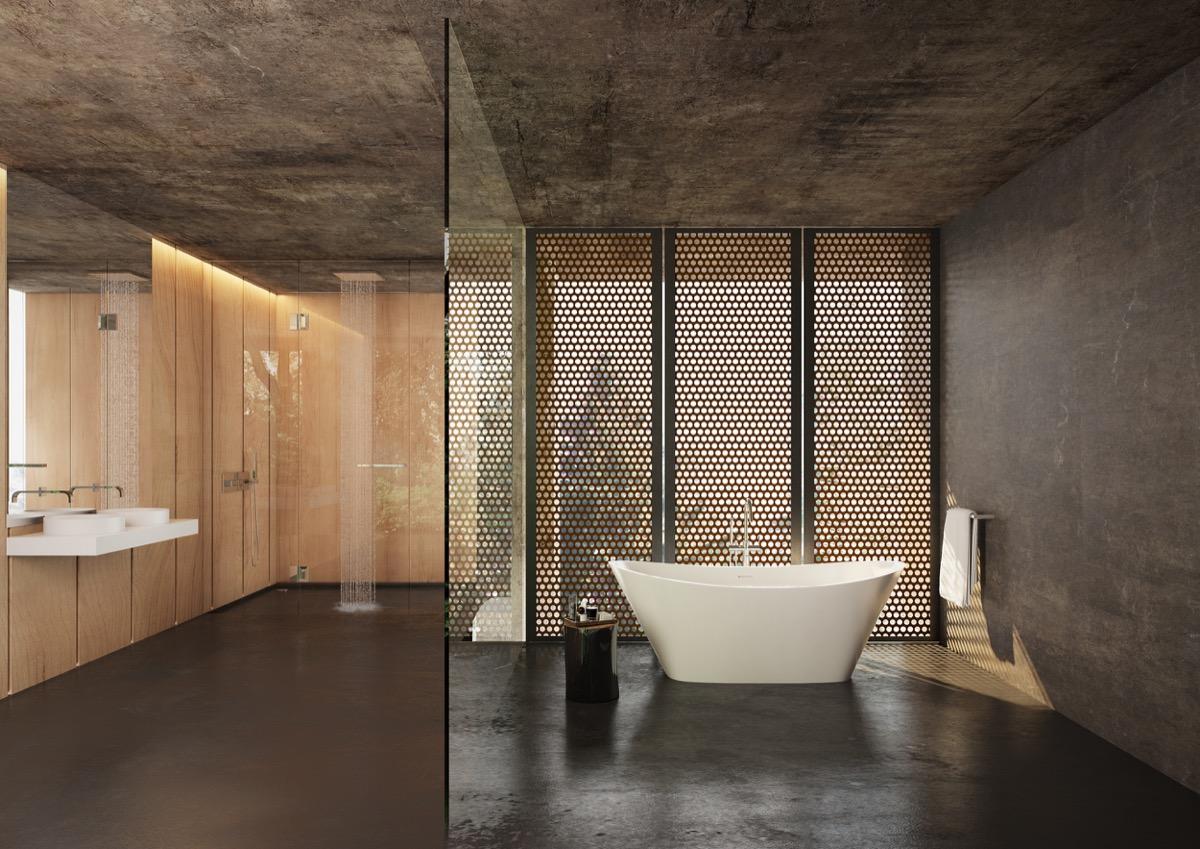 Badkamer inspiratie cre er een ruimte vol rust en ontspanning man man for Badkamer design italiaanse douche