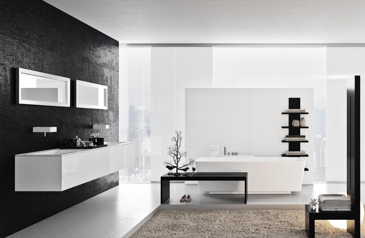Badkamer inspiratie cre er een ruimte vol rust en ontspanning man man - Deco van badkamer design ...