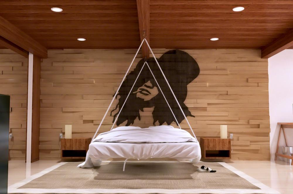 Houten Wandbekleding Slaapkamer : Houten wand achter het bed is de upgrade voor je slaapkamer man man