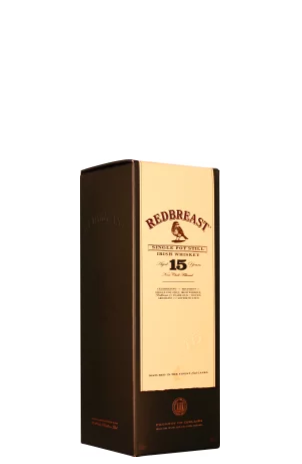 REDBREAST 15 YEARS POT STILL man man