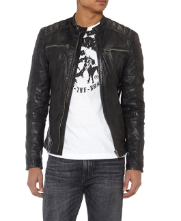 layeren-leather-black-manman