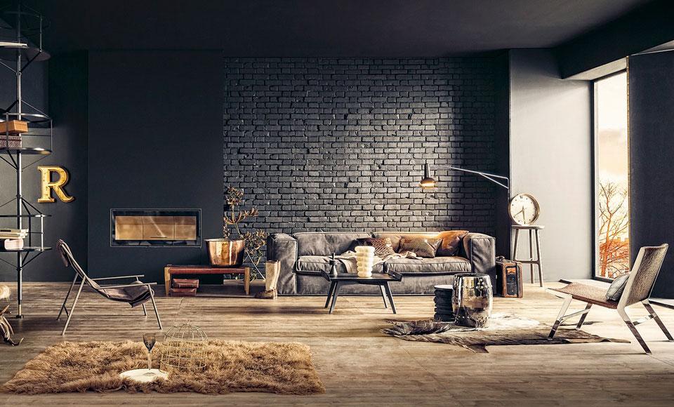 Stoere Woonkamer. Beautiful Landelijk Moderne Woonkamer Interieur ...
