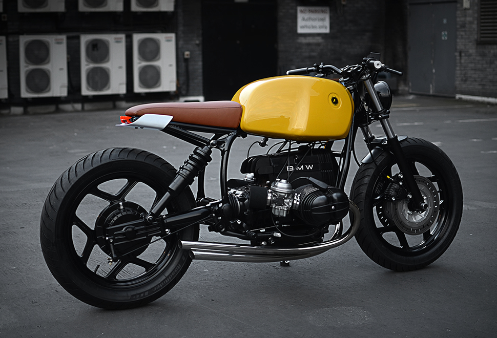 BMW r80 motor man man
