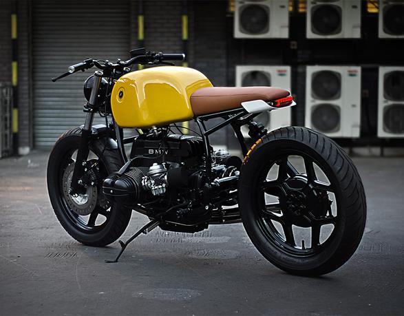 BMW r80 motor man man 2