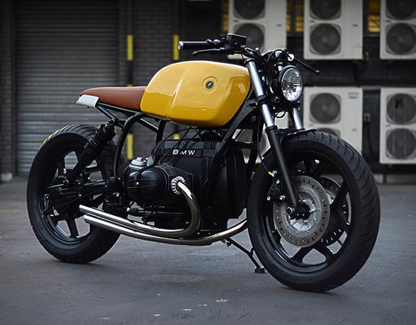 BMW r80 motor man man 3