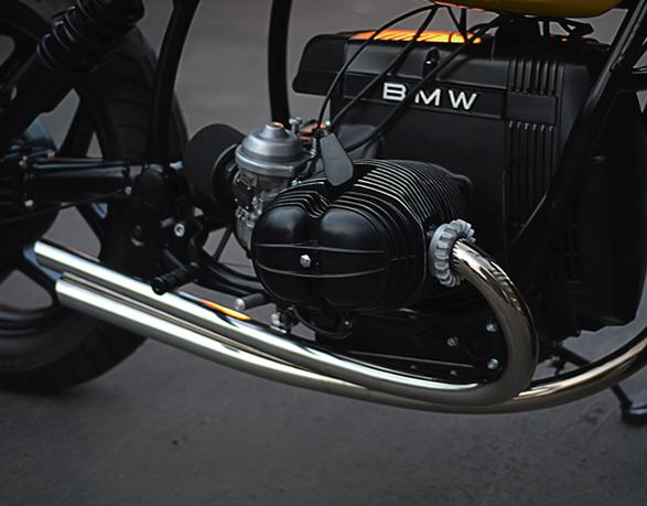 BMW r80 motor man man 7