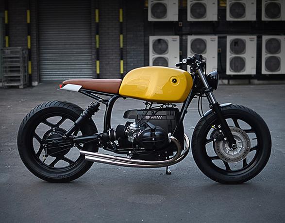 BMW r80 motor man man 8