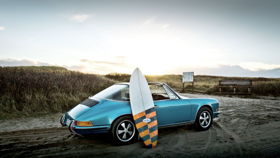Porsche 911 targa man man