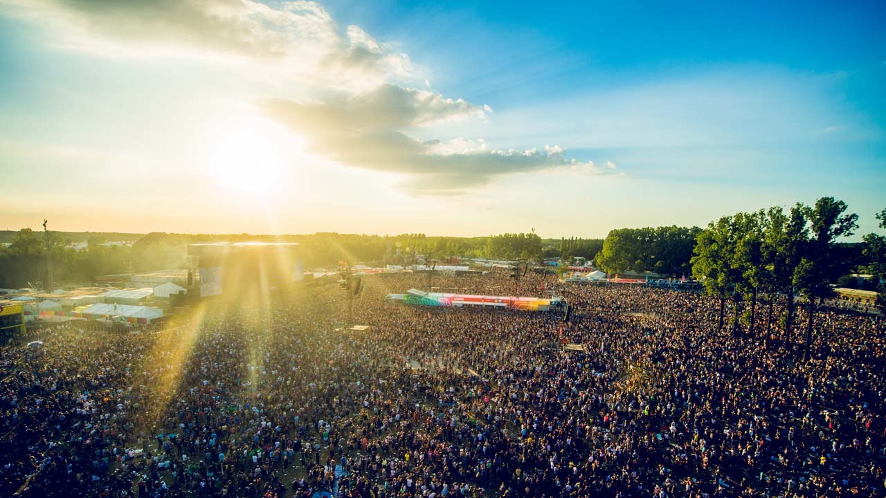Rock Werchter MAN MAN
