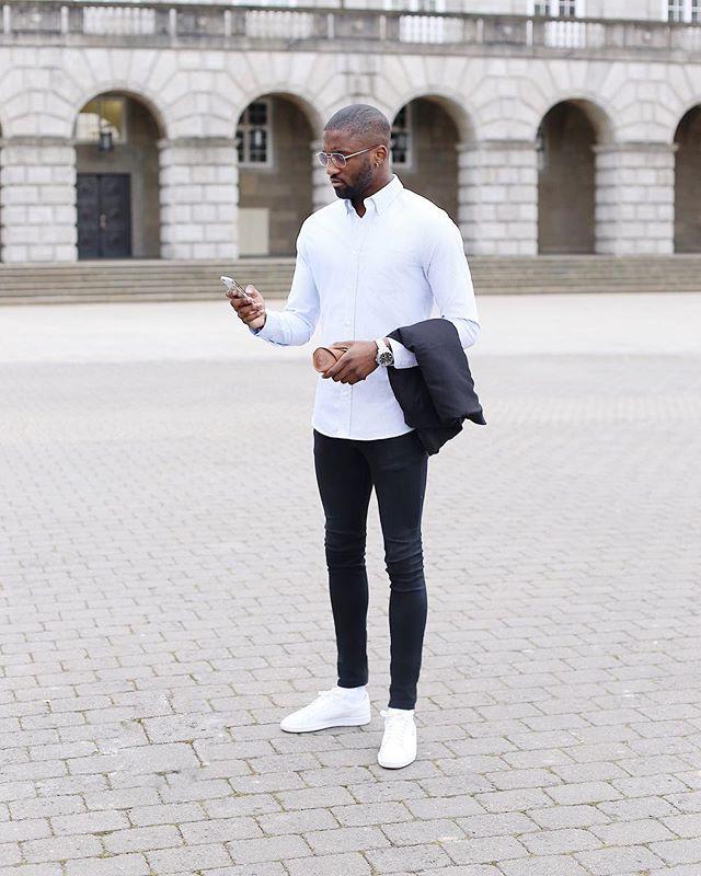 Sneakers wit look MAN MAN