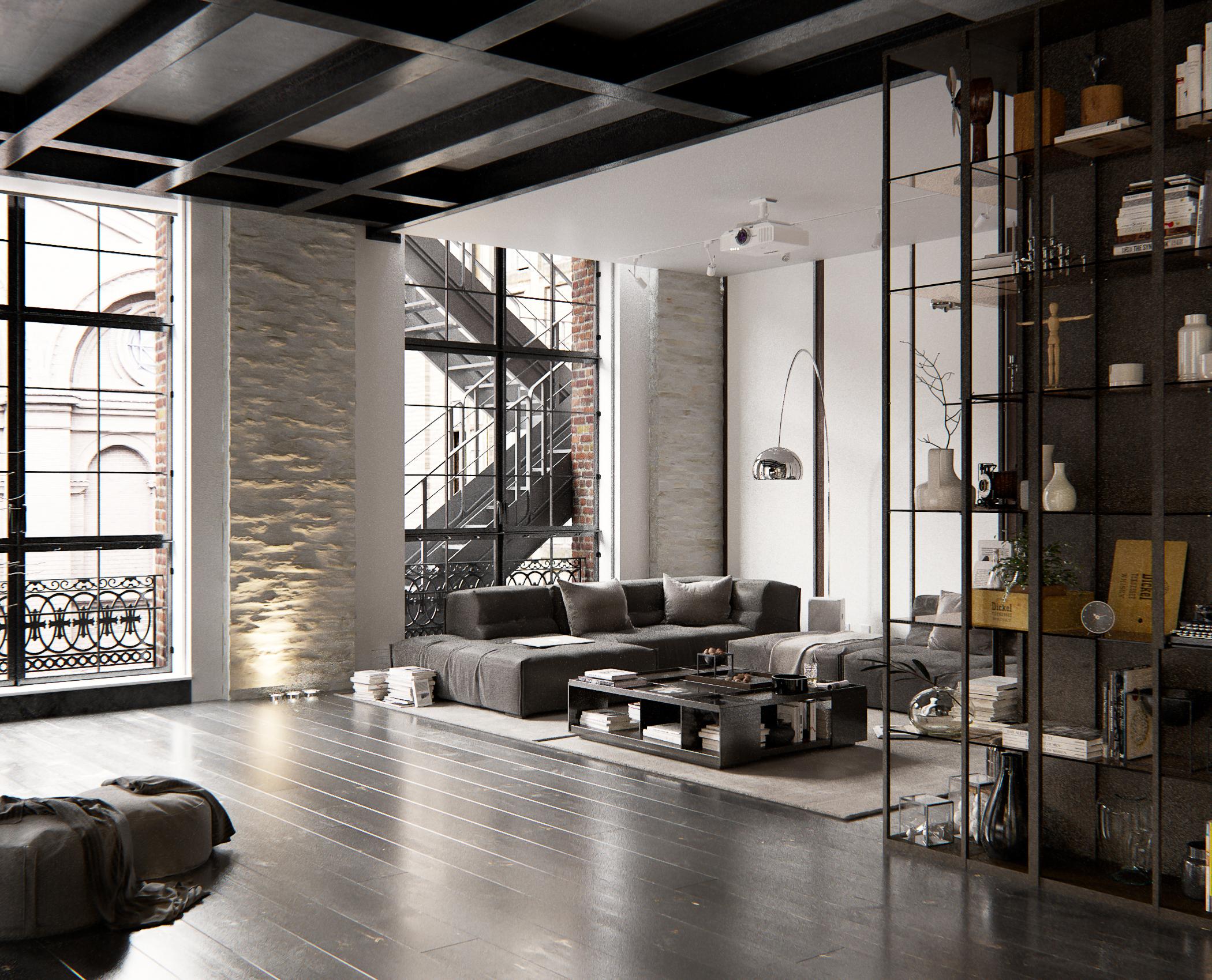 Beautiful Industrieel Woonkamer Gallery - Amazing Ideas 2018 ...