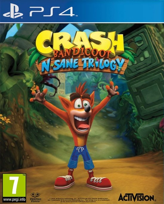 Crash bandicoot man man