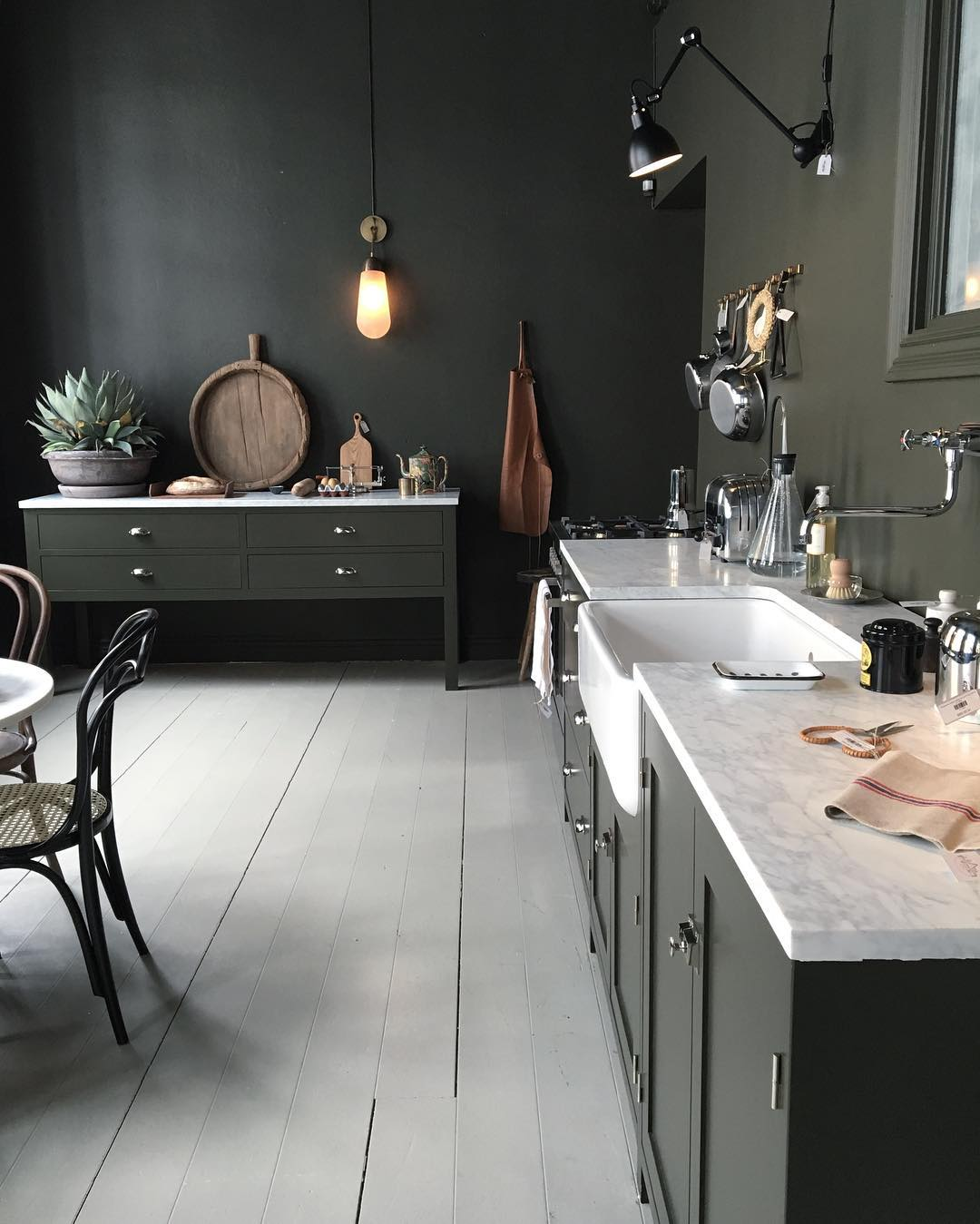Olive Green Kitchen Decor: MAN MAN Wooninspiratie #37