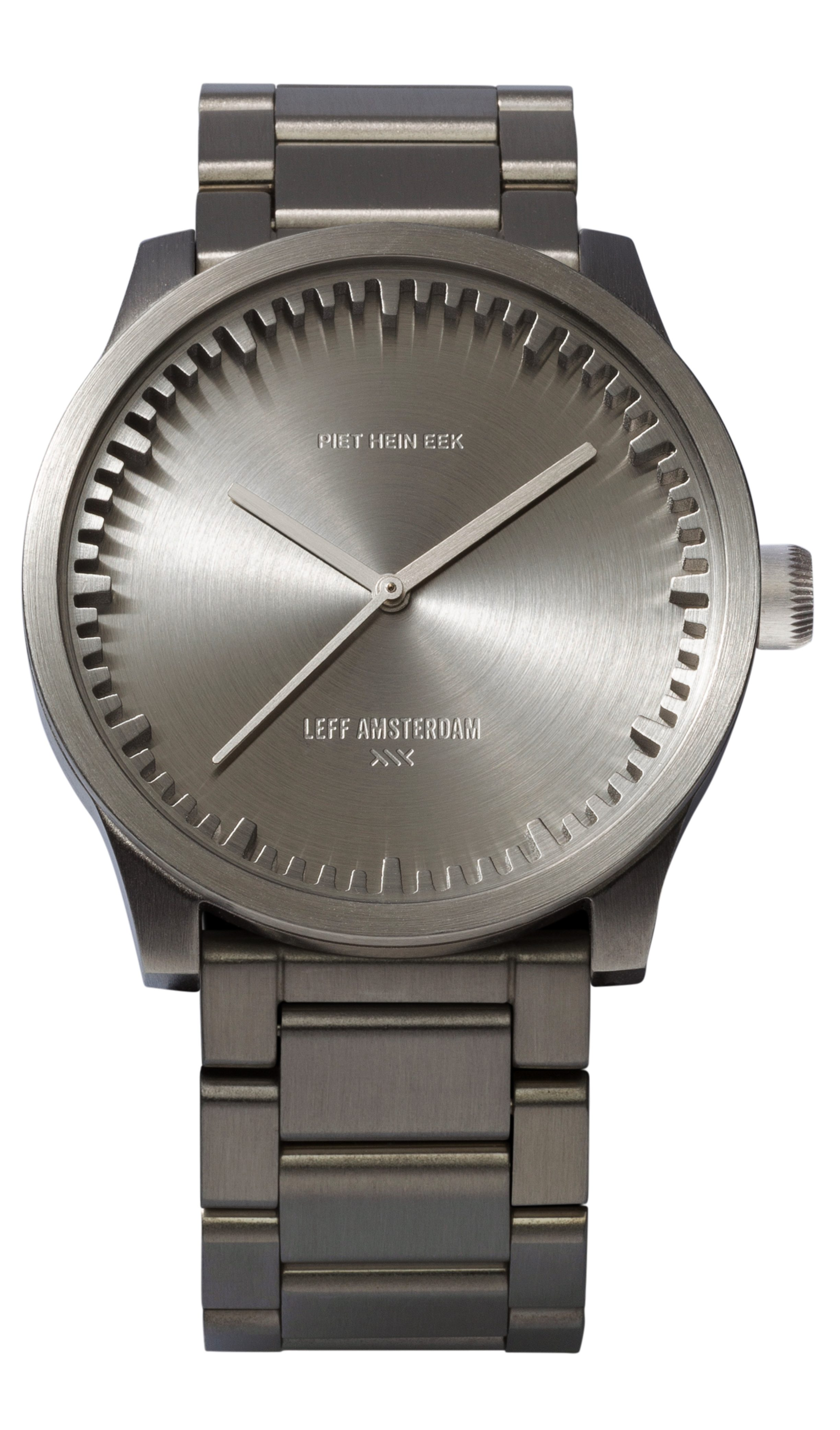 1) S42 steel tube watch leff amsterdam design by piet hein eek
